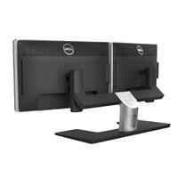 Dell MDS14 Dual Monitor Stand - 機座 用於 2台顯示器 - 黑 -熒幕尺寸: 24-英寸