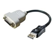 Dell 轉接頭 - DisplayPort 轉 DVI (單一連結)