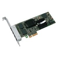 Intel 四連接埠 1 Gigabit 伺服器配接卡乙太網路 PCIe X4 網路介面卡