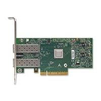 Dell Mellanox Connect X3 雙端口 10 Gigabit Direct Attach/SFP+ 伺服器乙太網路網路配接卡 - 低矮型