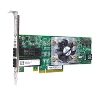 Dell QLogic 8262 雙端口 10 Gigabit SFP+ Converged 網路配接卡 - Low Profile