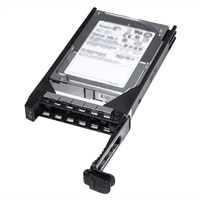 Dell 10,000 RPM SAS 6Gbps 2.5in 可熱插拔 3.5in HYB CARR 硬碟 - 600 GB