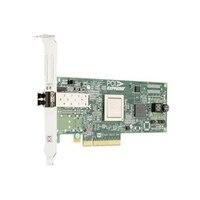 Dell Emulex LPE12000 Single Channel 8Gb PCIe 主機匯流排配接卡, 低矮型, Customer Kit