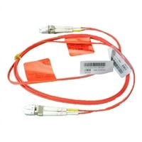 Dell 多重模式 LC-LC 光纖纜線 - 2m