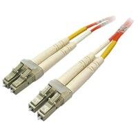 多重模式 LC/LC 光纖纜線-1m