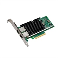 Intel X540-T2 - 網路介面卡 - PCIe 1.1 x8 - 10Gb乙太網 x 2 -用於 PowerEdge R220, R320, R920; Precision T3610, T5610, T7610