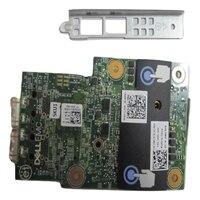 Dell Broadcom 57416 雙端口 10 Gigabit SFP+ 網路 LOM Mezz 卡片, CustKit