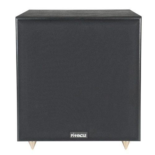 two lightly used pinnacle 10 home theatre subwoofers for sale. Black Bedroom Furniture Sets. Home Design Ideas