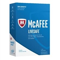 McAfee LiveSafe 2017 Unlimited Devices (1 Year)