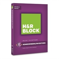 H&R BLOCK Tax Software Deluxe + State 2016 Windows (Download)