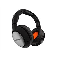 SteelSeries Siberia 840 Over-Ear Wireless Bluetooth Headphones (Glossy, Matte Black)