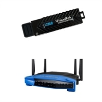 Linksys Dual-Band Wi-Fi Gigabit Router + 128GB SSD + $50 GC
