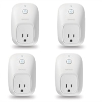 4-Pack Linksys WeMo Switch Smart Plug