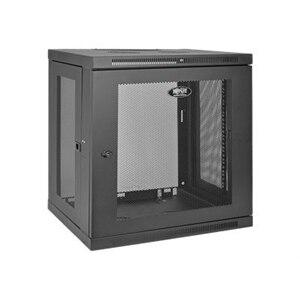 Tripp Lite 12U Wall Mount Rack Enclosure Server Cabinet w/ Door ...