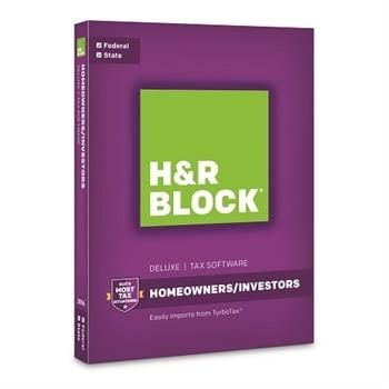 H&R BLOCK Tax Software + State 2016 Windows
