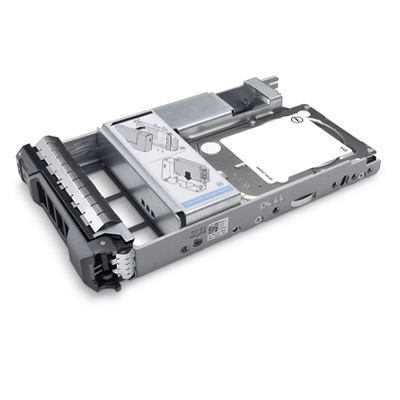 Dell 300GB 15K RPM SAS 12Gbps 512n 2.5in Hot-plug Drive 3.5in Hybrid Carrier