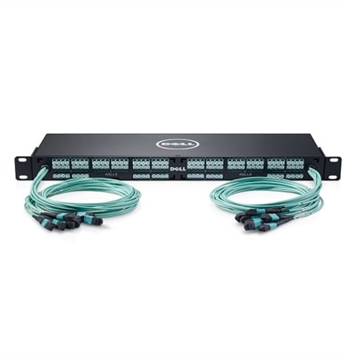 Dell Networking 64-port (16 x MTP64xLC) OM4 MMF Breakout Cable Management Kit, Customer Kit