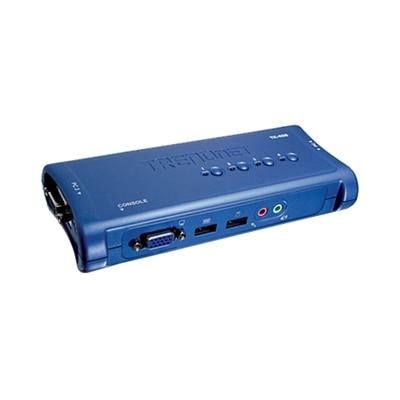 4-Port USB KVM Switch Kit with Audio