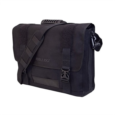 Eco Messenger Carrying Case - Fits Laptops with Screen Sizes up to 17.3-inch - Black