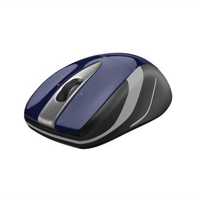 Logitech M525 - Mouse - right and left-handed - optical - 5 buttons - wireless - 2.4 GHz - USB wireless receiver - blue