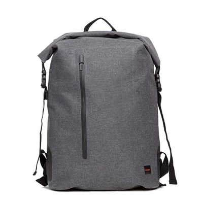 Knomo Cromwell - Laptop carrying backpack - 14-inch - gray