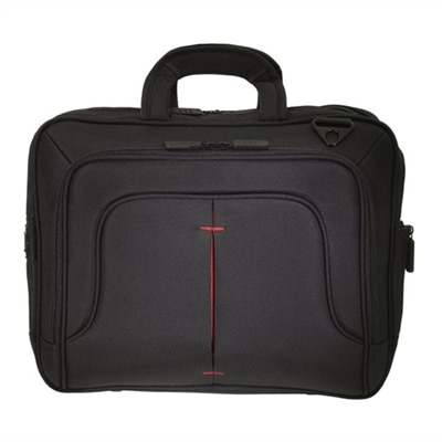 ECO STYLE Tech Pro TopLoad - Notebook carrying case - 16.1'' - Black, Red