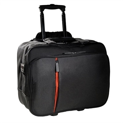 ECO STYLE Luxe Rolling case - Laptop carrying case and pouch bag - 15.6-inch