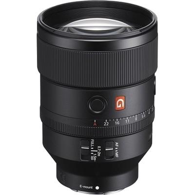 Sony - G Master FE 135mm F1.8 GM Prime Telephoto Lens for Sony E-mount Cameras - Black