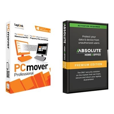 Download Laplink PCmover Pro and Absolute Software Home and Office Premium 3YR Subscription