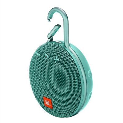 JBL Clip 3 - Speaker - for portable use - wireless - Bluetooth - 3.3-watt - river teal