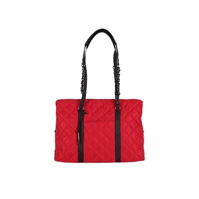WIB No. 5 Tote - Shoulder bag - polyurethane, 230T nylon - Red