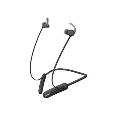 Sony WI-SP510 - Earphones with mic - in-ear - neckband - Bluetooth - wireless - black