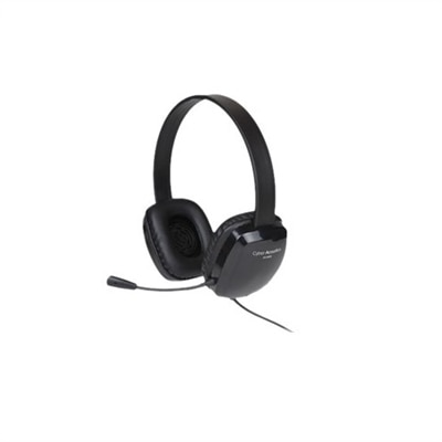 Cyber Acoustics AC 6008 - Headset - on-ear - wired