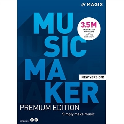 Download MAGIX Music Maker Premium Edition 2021 ESD