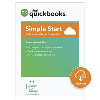 Download Intuit QuickBooks Online Simple Start 2021