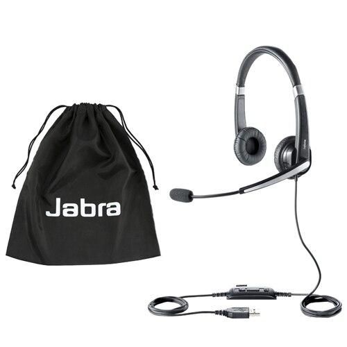 Jabra UC Voice 550 MS Duo - Headset - on-ear - black | Dell Ireland