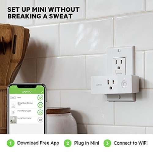 Linksys WeMo Mini Smart Plug - Pack of 4 | Dell USA