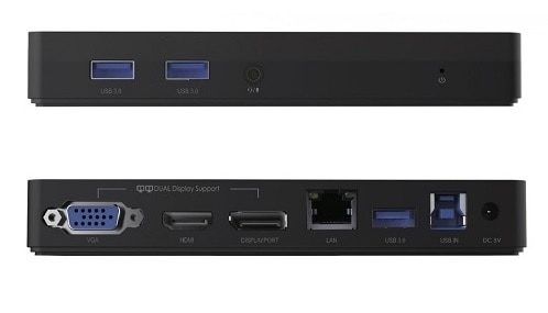 Visiontek VT1000 Universal Dual Display USB 3.0 Dock