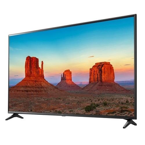LG 43 Inch 4K LED Ultra HD HDR Smart TV - 43UK6090PUA
