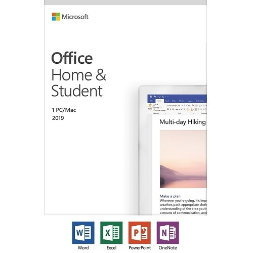 office home & student 2019 for pc
