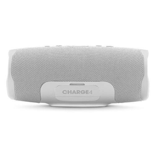 Jbl Charge 4 Portable Bluetooth Speaker White Steel Dell Usa