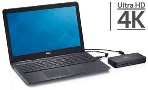 Elektronická reklama na dokovací stanice Dell – USB 3.0