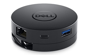 Mobil USB-C-adapter från Dell − DA300