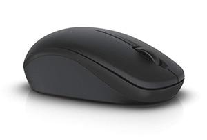 Dells trådlösa mus WM126 – Svart