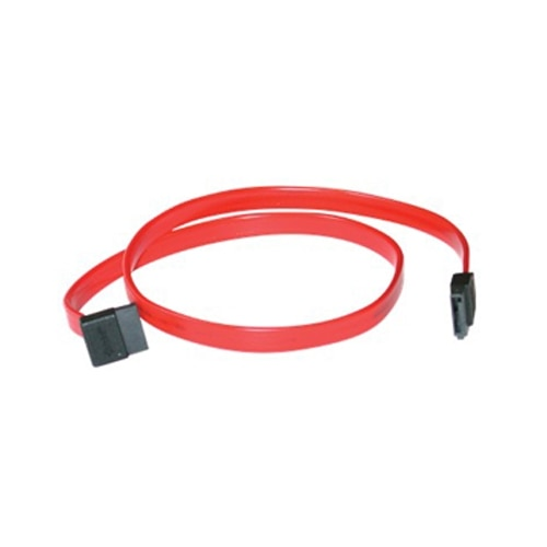 CablesToGo C2G 18-inch 7-Pin 1-Device Serial ATA Cable - Red (10181)
