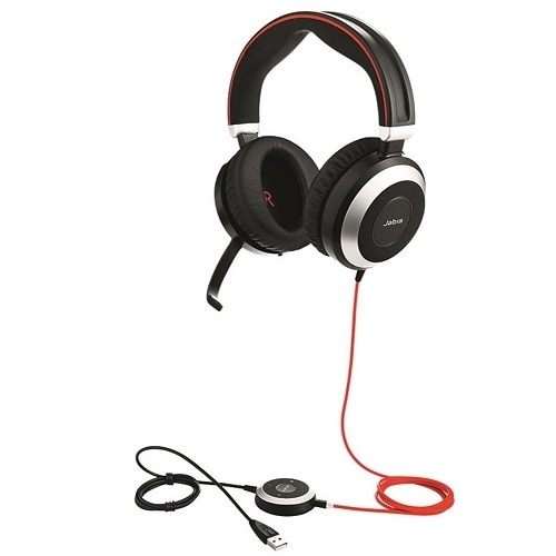 Jabra Evolve 75 Ms Stereo Wireless Headset Link 370 Dell Canada