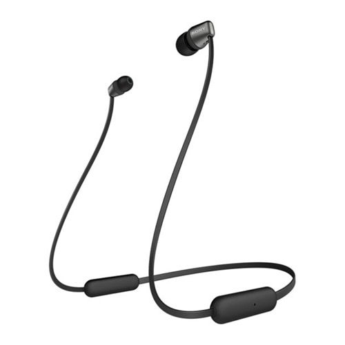 Sony WI-C310 - Earphones with mic - in-ear - Bluetooth - wireless - black