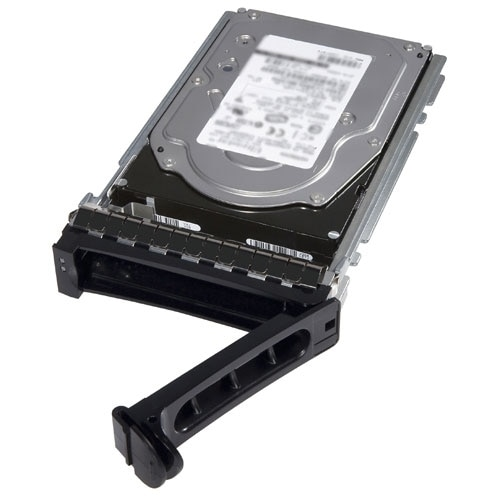"""""""Increase the storage capacity of your system with the 1 TB Hard Drive from Dell. Offering a rotational speed of 7200 RPM, this drive provides fast disk access. Featuring SAS interface, this hard drive delivers enhanced data transfer speeds. Device Type: Hybrid hard drive - internal - nearline Capacity: 1 TB Form Factor: 2.5"""" Interface: SAS 12Gb/s Drive Transfer Rate: 1.2 GBps (external) Spindle Speed: 7200 rpm Interfaces: 1 x SAS 12 Gb/s Compatible Bay: 2.5"""" Designed For: Dell PowerEdge R320, R410, R415, R420, R510, R515, R520, R610, R710, R720, R720xd, T310, T320, T410, T420, T610, T620, T710 Dell PowerVault MD3200, MD3200i Type: Hybrid hard drive - internal - nearline Capacity: 1 TB Form Factor: 2.5"""" Interface: SAS 12Gb/s Data Transfer Rate: 1.2 GBps Spindle Speed: 7200 rpm Designed For: PowerEdge R320, R410, R415, R420, R510, R515, R520, R610, R710, R720, R720xd, T310, T320, T410, T420, T610, T620, T710; PowerVault MD3200, MD3200i"""""""