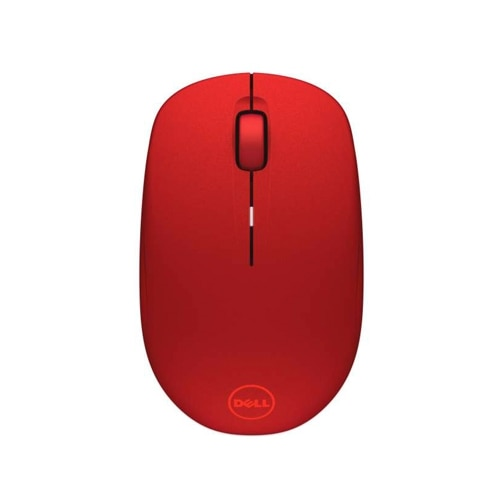 """""""The WM126 Wireless Optical Mouse from Delloffers you everyday wireless performance with excellent battery life. It is designed to create a clutter-free workspace with a reliable, plug-and-play RF wireless connection. This wireless mouse provides reliable performance and a stable wireless connection through the USB anchored RF wireless dongle. Its Plug and play feature allows for easy installation so users can get started using their mouse within minutes, with no confusing software or setup requirements. The small size and wireless performance help to make WM126 wireless optical mouse a great option for on-the-go users. Device Type: Mouse Wireless Receiver: USB wireless receiver Weight: 2.03 oz Color: Red Connectivity Technology: Wireless Interface: RF Movement Detection Technology: Optical Buttons Qty: 3 Movement Resolution: 1000 dpi Features: Scrolling wheel, wireless receiver Interfaces: 1 x USB - 4 pin USB Type A Compliant Standards: Plug and Play Service & Support: Limited warr"""