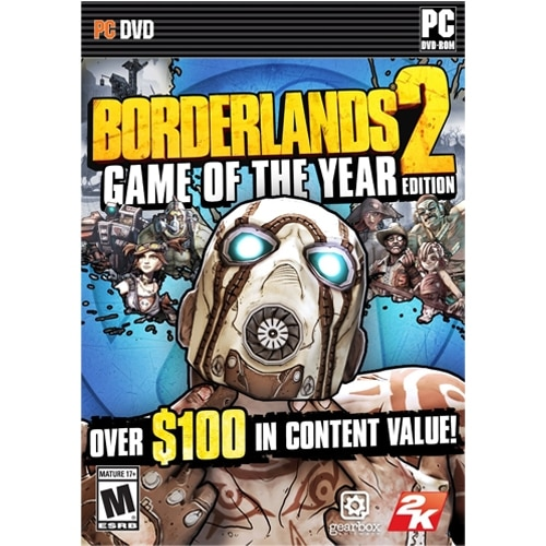 Borderlands 2: Game of the Year Edition - PC - Download
